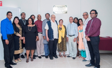 Launch of the Dr. Isaiah James Boodhoo Art Gallery_10
