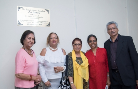 Launch of the Dr. Isaiah James Boodhoo Art Gallery_17