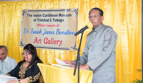 Launch of the Dr. Isaiah James Boodhoo Art Gallery_18