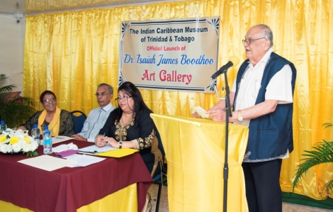 Launch of the Dr. Isaiah James Boodhoo Art Gallery_1