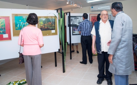 Launch of the Dr. Isaiah James Boodhoo Art Gallery_20