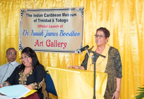 Launch of the Dr. Isaiah James Boodhoo Art Gallery_3