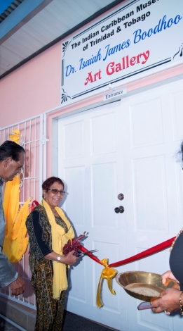 Launch of the Dr. Isaiah James Boodhoo Art Gallery_9